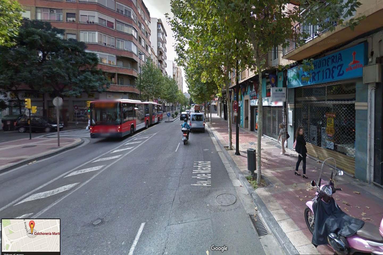 Localización Colchonería Martínez